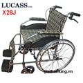 Xe lăn thường có phanh Lucass X28J (màu vàng đen)