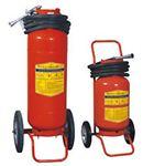 Bình chữa cháy xe đẩy bột ABC 35kg