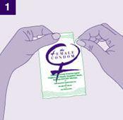 Cách dùng bao cao su nữ