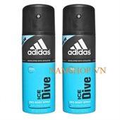 Xịt khử mùi toàn thân nam Adidas Ice Dive
