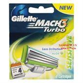Dao cạo Gillette Mach 3 bộ 4 lưỡi dao