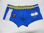 Quần lót nam thể thao bóng đá đội Argentina màu xanh dương