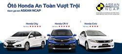 Kết quả đánh giá an toàn ô tô của Ủy ban đánh giá xe Đông Nam Á ASEAN-NCAP: Ô tô Honda an toàn vượt trội!