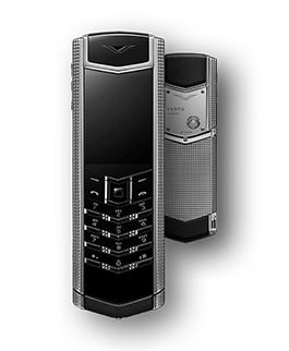 Vertu Signature S Clous De Paris Stainless Steel