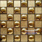 Gạch mosaic mạ vàng MV-201