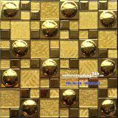 Gạch mosaic mạ vàng MV-202