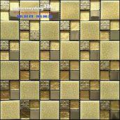 Gạch mosaic mạ vàng MV-205