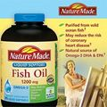 Nature Made Fish Oil Omega -3 1200mg. Hp 375 vin