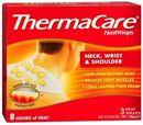 ThermaCare® HeatWraps Neck, Shoulder and Wrist Wraps - Miếng dán nhiệt giảm đau vùng vai gáy. Hộp 3 miếng