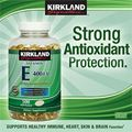 Kirkland Signature Vitamin E 400 IU. L 500 vin