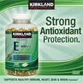 Kirkland Signature™ Vitamin E 400 IU. Lọ 500 viên