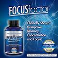 Focus Factor – Vitamin thiết yếu cho Não bộ, hỗ trợ, duy trì và tăng cường trí nhớ. Hộp 150 viên