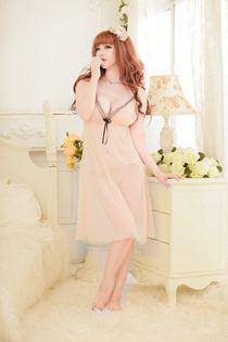 Váy Ngủ Dáng Dài Bigsize 0478 Vàng