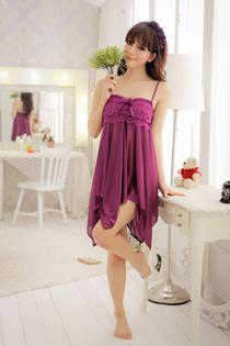 Váy Nàng Tiên Cá Tím Than 0365