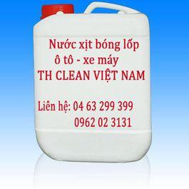 Nước xịt bóng lốp Thcleanvn can 5 lít