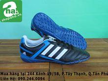 Giày đá banh cỏ nhân tạo xanh đen KM411 (đang khuyến mãi)