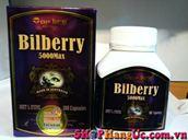Thuốc bổ mắt Bilberry TopLife 5000mg