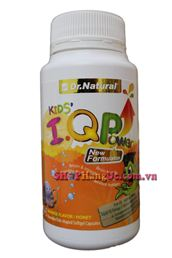 Dầu cá Dr Natural Kids I.Q.P