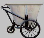 Xe gom rác tôn Dung tích 400-500L