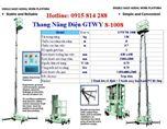 Thang nâng điện GTWY8-1008 hiệu OPK - Nhật Bản
