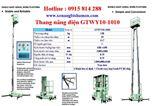 Thang nâng điện GTWY10-1010 hiệu OPK - Nhật Bản