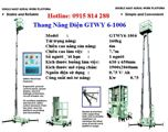 Thang nâng điện GTWY6-1006 hiệu OPK - Nhật Bản