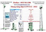 Thang nâng điện GTWY12-2012 hiệu OPK