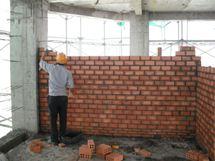 > Một số lưu ý khi xây tường.
