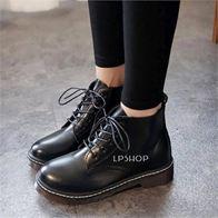 COMBAT BOOTS BLACK LP0010