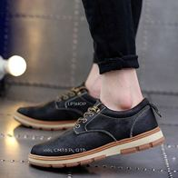 LEATHER SHOES BLACK LP0294