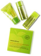 Bộ Kit Tẩy Trang Táo Xanh Apple Juicy Special Cleansing Innisfree