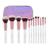 Bộ Cọ 12 Cây BHcosmetics Crystal Quartz 12 Piece Brush Set