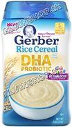Bột gạo DHA Gerber (Rice DHA)