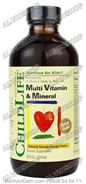 Multi Vitamin & Mineral - 237ml
