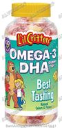 Kẹo Gummy Omega3 DHA - 180v