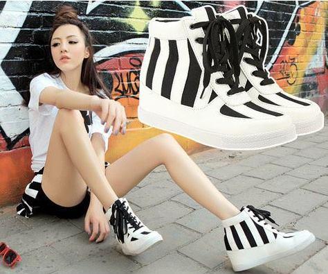 giày nữ đẹp. giày xinh, giày giá rẻ, giày bata trắng