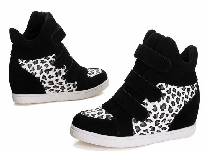 giày sneaker, giày giá rẻ, giay boot nu, giày da báo, giày độn đế