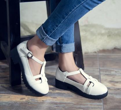 giày cut out, giày bánh mì, giày nữ đẹp, giày giá rẻ