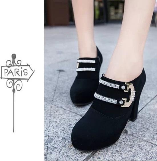 giày boot giá rẻ, giày boot cao gót, giày boot xinh, giày boot đẹp