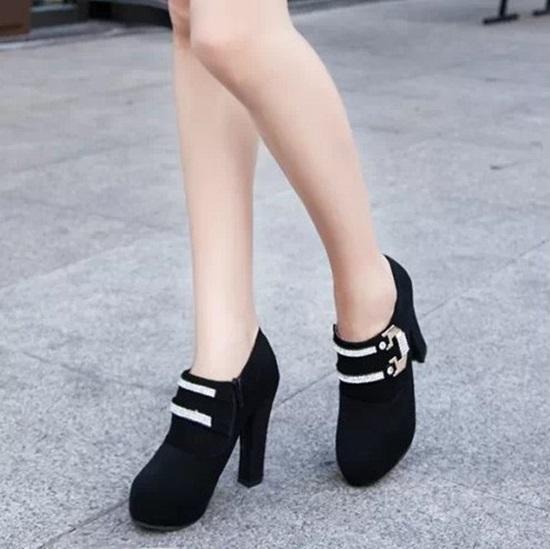 Giày boot cao gót, giày boot nữ đẹp, giày boot xinh
