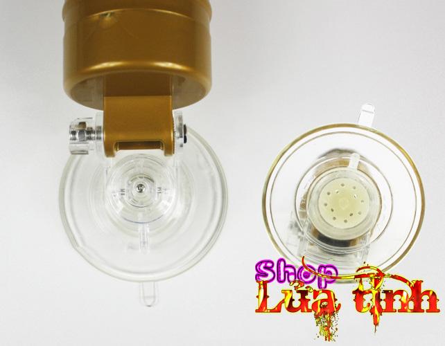 phần đế hút chân không của âm đạo đèn pin