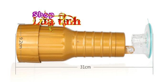 kích thước của âm đạo đèn pin