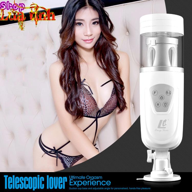 máy thủ dâm cao cấp telescopic lover ad36