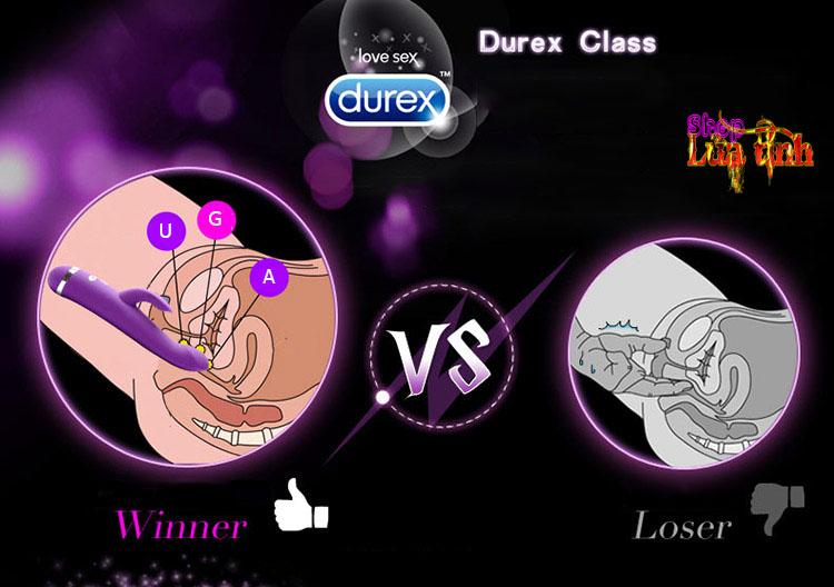 Dụng cụ kích thích điểm G Durex R-Viber - MS25C