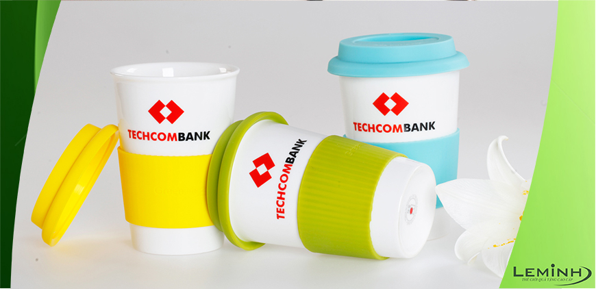 CỐC SỨ ECO CUP - KH TECHCOMBANK