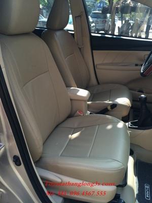 Bọc ghế da Malaisia cho xe vios 1.5E