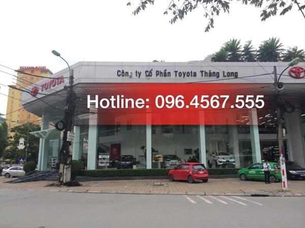 Toyota Thăng long cau giay ha noi
