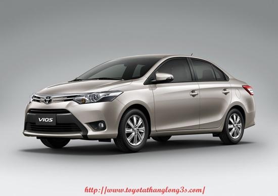 Toyota Vios xe ban chay nhat nam 2015