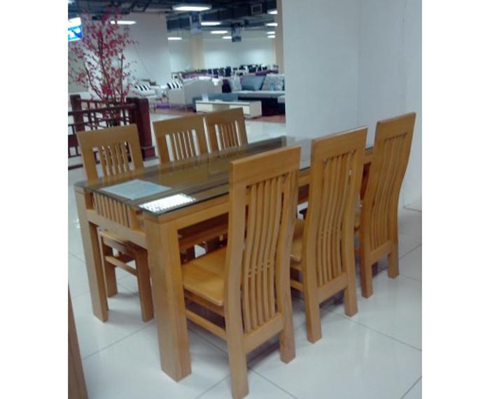 Bàn ghế ăn cao cấp Mã BGA008