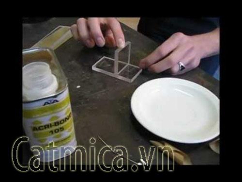 Keo acrybond-105 dán mica